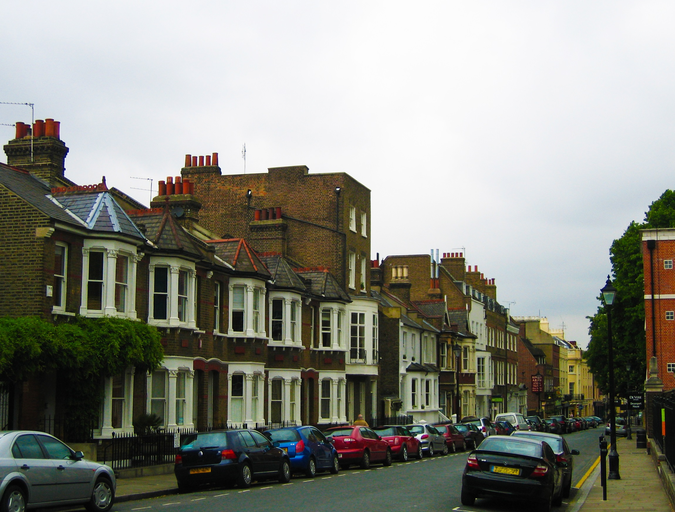 Terraced houses in London by Ayla87