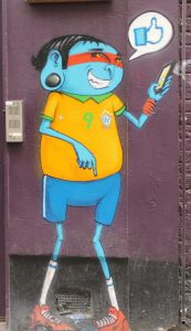 Cranio, Arte urbano y graffitis en Shoreditch, Londres