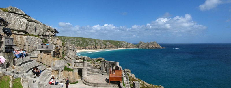 Minack Theatre and view over Porthcurno Bay (Tim Lewy)