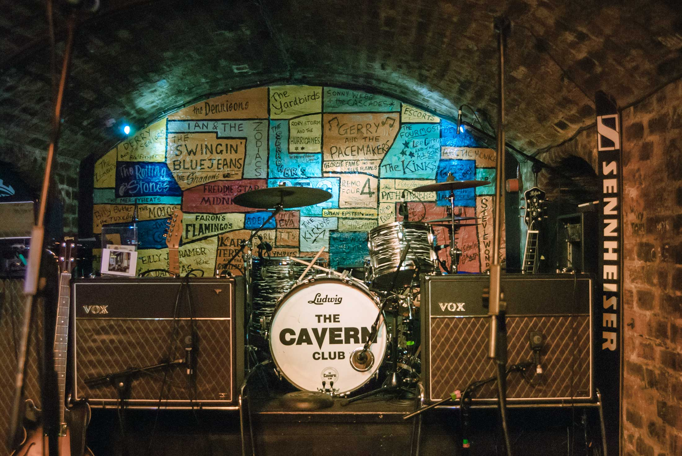 Sitios imprescindibles Liverpool The Beatles The Cavern